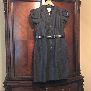 iCE Dark Denim belted Dress Size 10